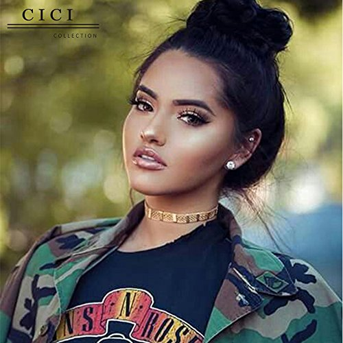 Beauty : Cici Collection 180% Density 360 Lace Frontal Wigs Brazilian Human Virgin Hair Wigs Straight Full Lace Wigs Pre Plucked Straight 360 lace wigs Natural Hairline With Baby Hair (16inch, Straight)