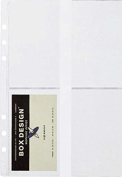 Time System 10757 Visitenkartenhülle Für Business System A5