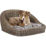 legler panier pour chien en osier avec coussin amazon. Black Bedroom Furniture Sets. Home Design Ideas