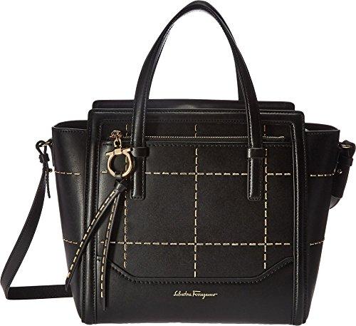 Salvatore Ferragamo Women's Amy 21G662 Nero Handbag