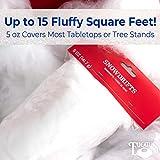 Super Realistic Fake Indoor Snow Blanket. 45 sqft