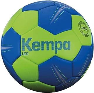 Kempa Leo Ballon de Handball Unisexe, Spring Green/Azure Blue, 2