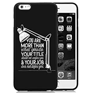 More Than A Job Title Durable High Quality iPhone 6 Plus 5.5 TPU Phone Case