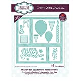 Creative Expressions Craft Die CED9314 Sue Wilson Shadow Boxes Collection Celebrations
