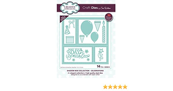 Creative Expressions Shadow Box Collection Celebrations CED9314