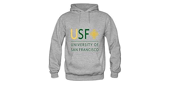 Official NCAA University of San Francisco PPSNU031 Mens//Womens Boyfriend Long Sleeve Tee