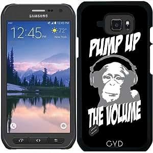Funda para Samsung Galaxy S6 Active - Mono Dj by wamdesign