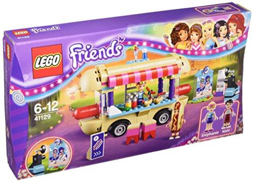 Friends-Hot-Dog-Stand im Freizeitpark