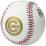 Rawlings 2016 Official MLB World Series Game Baseball Chicago Cubs vs Cleveland Indians With Cube