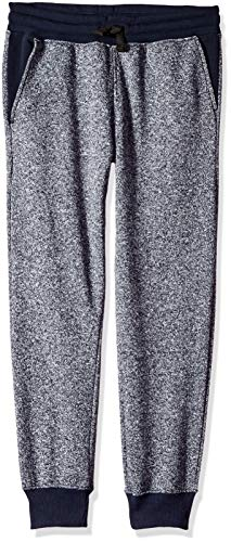Southpole - Kids Big Boys Active Basic Jogger Fleece Pants, Marled Navy Waist X-Large (Jog Pants Fleece)