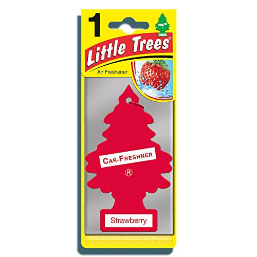 076171103123 - Car Freshener 10312 Little Tree Air Freshener-Strawberry carousel main 0