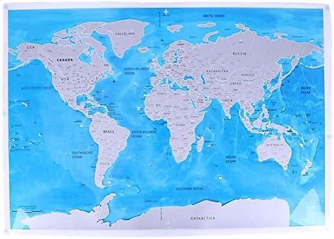 Rascar Deluxe niños Edición Mundo Mapa de Mundo Impresiones Mapa océanos Bricolaje: Amazon.es: Electrónica