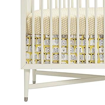 Amazon Com Dwellstudio Crib Skirt Bears Baby