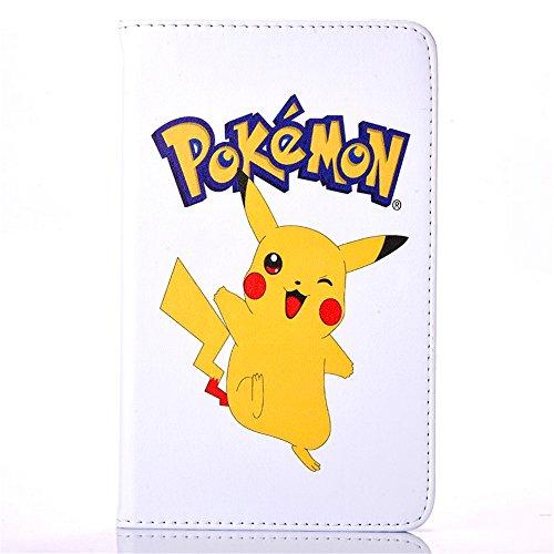 Samsung Galaxy Tab A 7.0 2016 Case, Phenix-Color Pokemon Go Cartoon Cute Premium Flip Stand PU Leather Shell Case for Samsung galaxy Tab A 7.0 inch 2016 SM-T280 SM-T285 Tablet (#03)