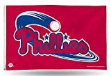MLB Philadelphia Phillies 3-Foot by 5-Foot Banner Flag