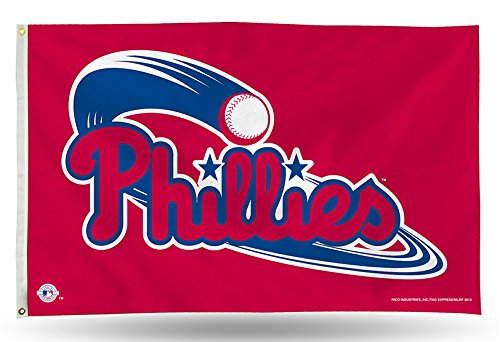 llies 3-Foot by 5-Foot Banner Flag ()