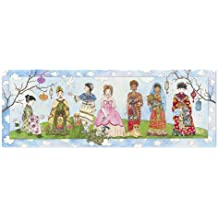 Melissa & Doug Princesses of the World Jumbo Jigsaw Floor Puzzle (48 pcs, over 4 feet long)