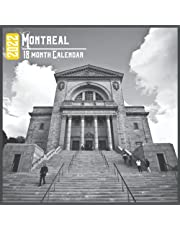 Montreal Calendar 2022: 18 Month Calendar Montreal, Square Calendar 2022, Cute Gift Idea For Montreal Lovers Women & Men, Size 8.5 x 8.5 Inch Monthly