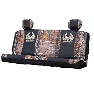 Amazon Com Realtree Mid Size Camo Bench Seat Cover