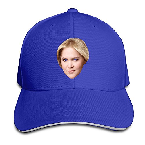 [MaNeg Amy Schumer Sandwich Peaked Hat & Cap RoyalBlue] (Nike Atlanta Braves Light)