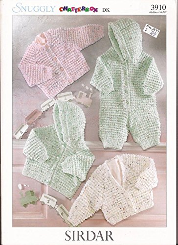 Amazon Sirdar Chatterbox Dk Knitting Pattern 3910 Cardigans
