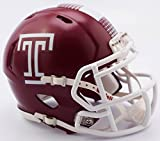 TEMPLE OWLS NCAA Riddell Revolution SPEED Mini Football Helmet