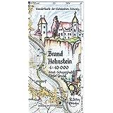 Brand - Hohnstein 1:10000: Wanderkarte der Sächsischen Schweiz. Ochel - Schwarzbach - Tiefer Grund