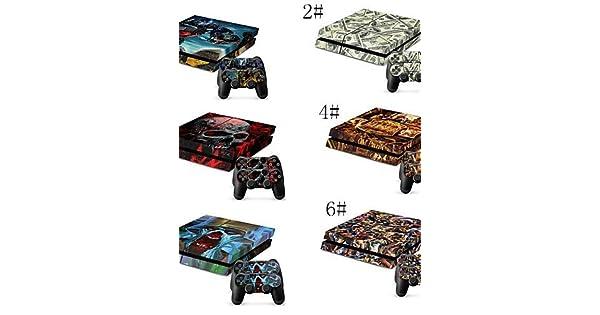 PS4/Sony PS4 DF-0161 - Novedad - Policarbonato/Plástico Bolsos, Cajas y Cobertores - , 5#: Amazon.es: Videojuegos
