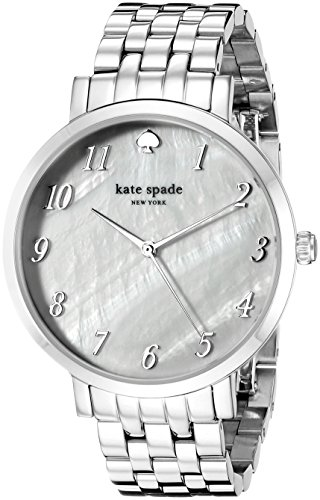 - kate spade new york Women's 1YRU0849 Monterey Analog Display Japanese Quartz Silver Watch