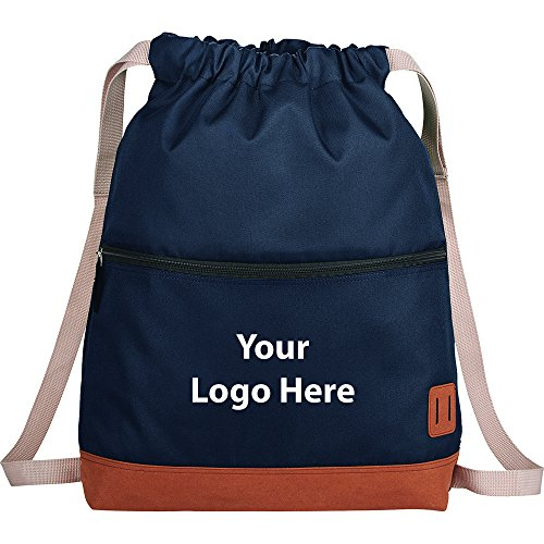 Cascade Deluxe Drawstring Sportspack - 48 Quantity - $11.50 Each - PROMOTIONAL PRODUCT / BULK / BRANDED with YOUR LOGO / CUSTOMIZED by Sunrise Identity