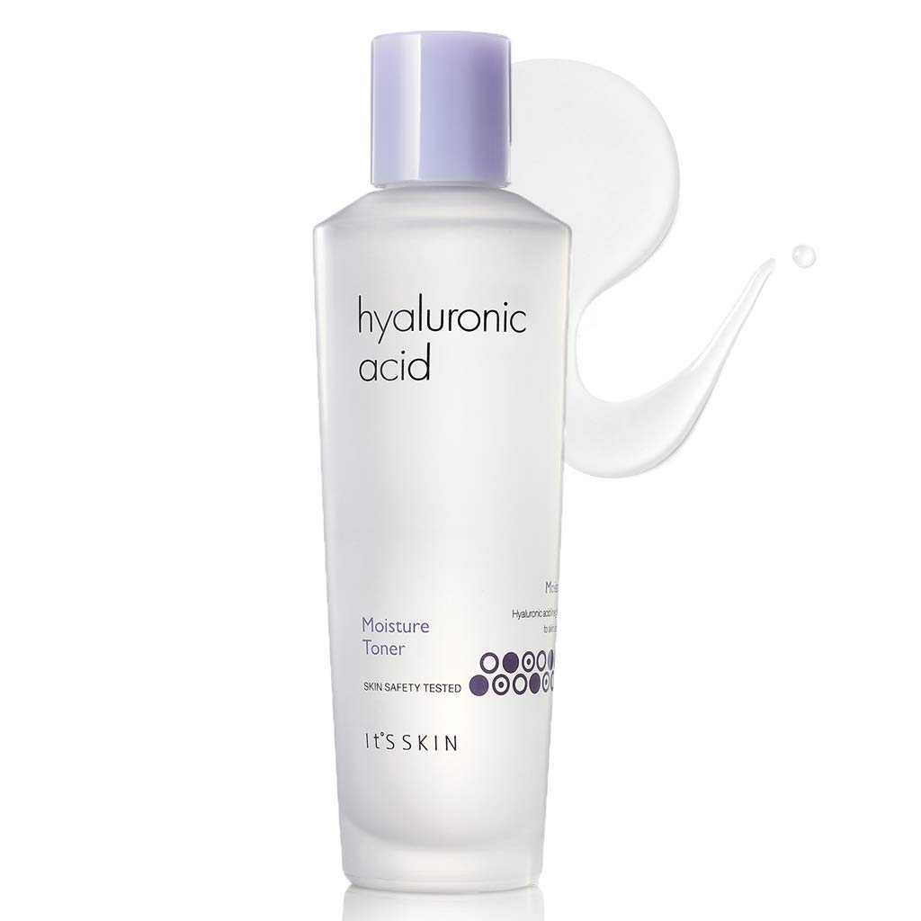 It'S SKIN Hyaluronic Acid Moisture Toner 150ml (5.07 fl.oz.) - Containing Vitamin C & Acerola Extract Skin Moisturizing & Soothing Facial Toner, Skin Smooth & Vitality by It's Skin