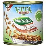 Vita Sana Borlotti Beans, Cranberry Beans, 398 ml