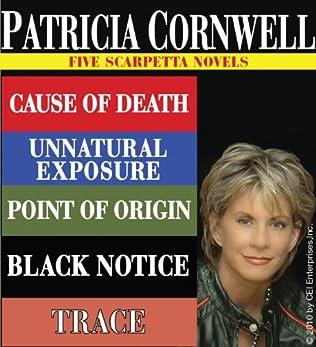 book cover of Patricia Cornwell: Five Scarpetta Novels