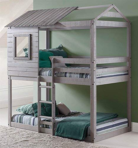 - DONCO Kids  Series Bed, One Size, Light Gray