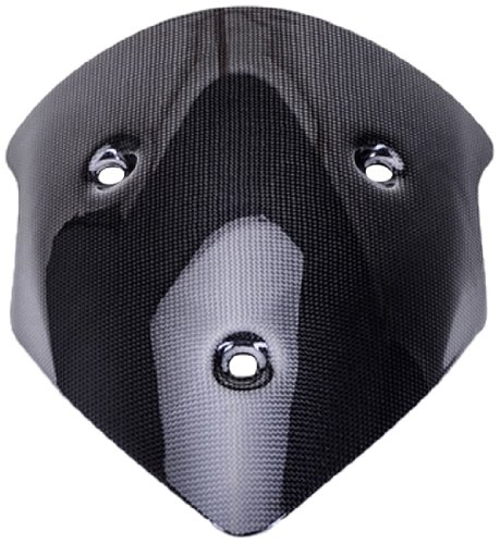 Bestem CBDU-MUL12-WSD Black Carbon Fiber Windscreen for Ducati Multistrada 1200 2010 - - Windscreen Carbon Fiber