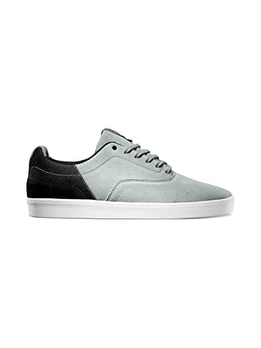 fd8eb7b9aa Vans Mens Parameter LXVI Skateboarding Shoes Mirage Grey Black 6.5 D(M) US