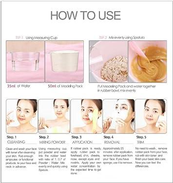 2500ml Premium Snow White Modeling Mask Powder Pack for Whitening, Anti Blemish