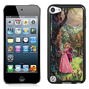 NEW DIY Unique Designed iPod Touch 5th Generation Phone Case For Thomas Kinkade Sleeping Beauty Phone Case Cover