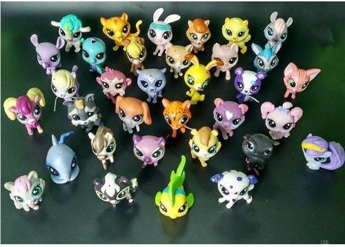 Shop Littlest Figure Pet Loose (Express$ MINI Doll Lot 10 PCS Littlest Pet Shop Dog Loose Child Girl Toys LPS Gift New Kids Action Figure Toys)