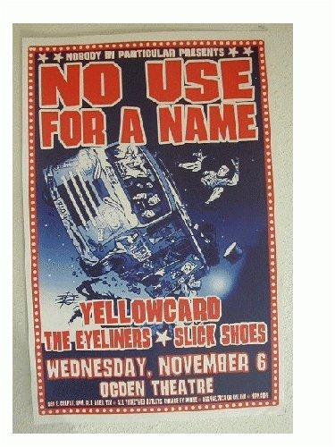 no-use-for-a-name-yellowcard-handbill-poster