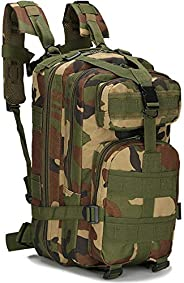 Tactical Backpack,25L Large outdoor Daypack Military Assault Pack For Sports Work Camping Survival Trekking Hu
