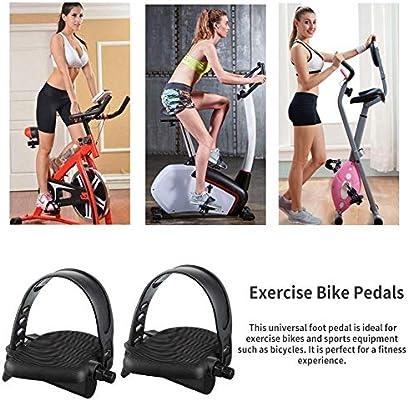 Pedal de bicicleta estática con banda de goma ajustable, pedales ...