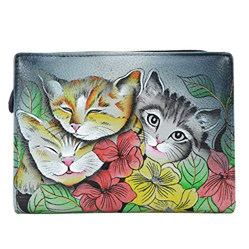 (Anna by Anuschka Leather By-Fold Wallet - (Three)
