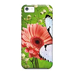 Hot Design Premium NNfpnru1620JTeyD Tpu Case Cover Iphone 5c Protection Case(butterfly)