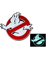 Graphic Dust Lot of 3 Ghostbusters Embroidered Iron On Patches and 1 Play Patch
