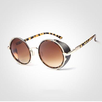 Gafas de sol Steampunk 50s Gafas de sol redondas Gafas de ...