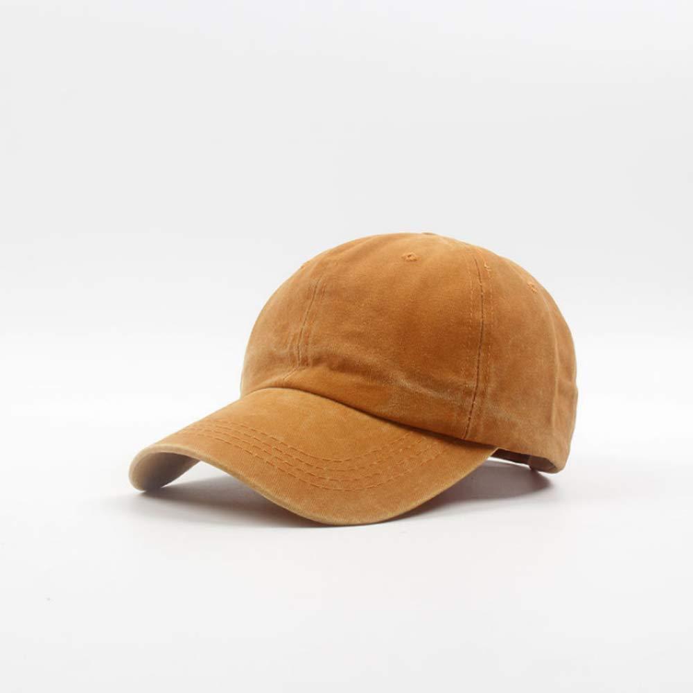 Color Mens Classic Old Denim Material Baseball Cap