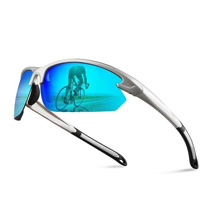 Amazon.com: Gafas de sol deportivas polarizadas ...