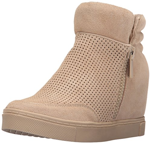 Steve Madden Womens Linqsp Fashion Sneaker Sand Suede