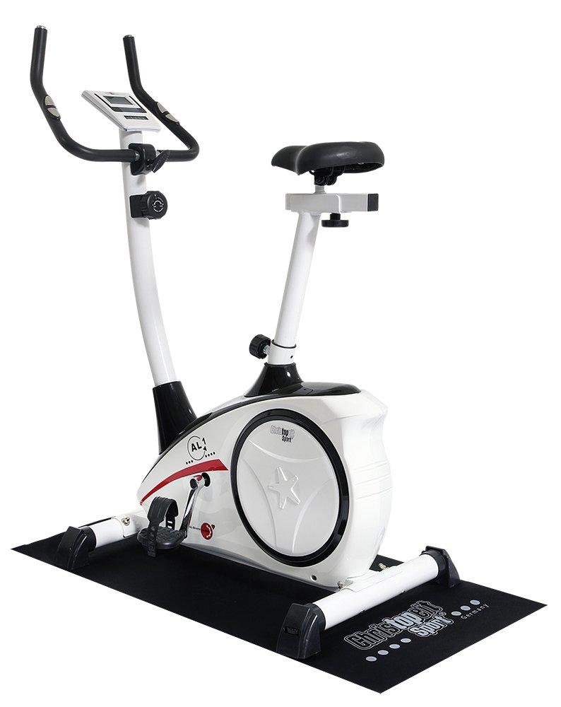 Christopeit 1398 - Alfombrilla protectora para máquinas de deporte (120 x 60 x 0,3 cm), color negro: Amazon.es: Deportes y aire libre